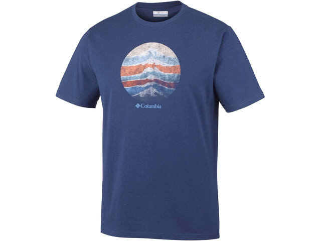 Columbia CSC Mountain Sunset - T-shirt manches courtes Homme - bleu
